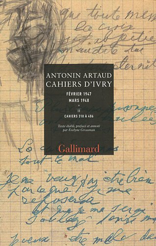 Cahiers d'Ivry, I, II par Antonin Artaud