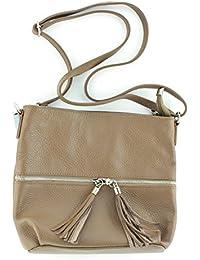 2199 große Damen Tasche schultertasche in 6 Farben 44x29x16 (weiß white) Sunny Girl