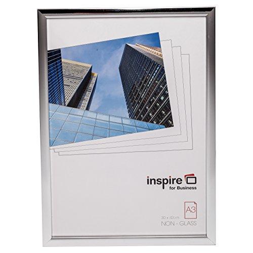 The Photo Album Company Cama3svp A3 30 x 42 cm Cambridge certificat Photo Image Cadre à poster – Argenté brillant
