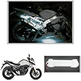 #10: Vheelocityin 10cm Neon Bike Light White - 1pc For Honda CB Hornet 160R