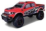 Maisto Tech R/C Ford F150 Raptor: Ferngesteuertes Auto in Monstertruck-Ausführung, mit Allradantrieb und Pistolengriff-Fernsteuerung, 70 cm, rot (581601)