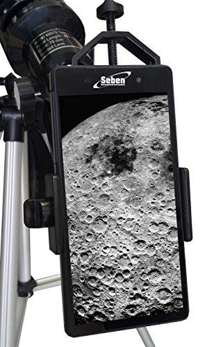 Orbinar Reise Teleskop Spektiv 400/70 inkl. Vollausstattung und Rucksack + Smartphone Adapter DKA5 - 4