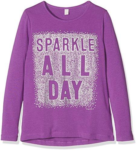 Esprit Kids Mädchen Langarmshirt T-Shirt, Violett (Light 081), 128 (XS)