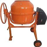 Excel CDF07866 Betoniera, 140 lt, 550 W, Arancione