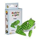 Origami modulaire 174-Pièces - Set Papier Petite Grenouille, Multicolore...