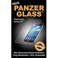 PanzerGlass - Protector de pantalla para Samsung Galaxy S4 (incluye trapo), color transparente