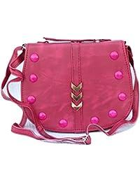 Vinayakam Women's Crossbody Sling Bag With Adjustable Strap