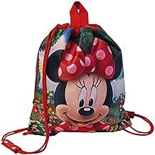 Disney Minnie Garden Mochila Infantil, 2.4 Litros, Color Rojo