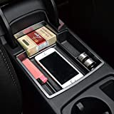 Car Glove Box Armrest Storage box Organizer Center Console Tray fit Audi A4 A5 B8 2012-2016 ABS Plastic ,Storage Boxes