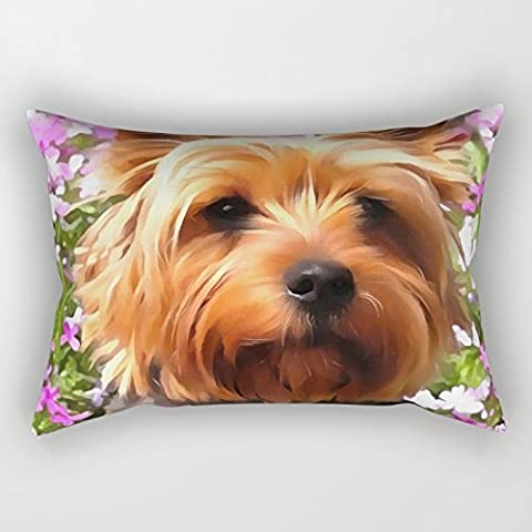 Loveloveu 18 X 26 Inches / 45 By 65 Cm Dogs Pillow case/Kissenbezüge ,twice Sides Ornament And Gift To Him,bedding,living Room,birthday,car Seat,home