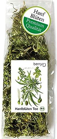berryz CBD Hanf Buds BIO / Blüten / Knospen + Hanftee Cannabis Sativa aus biologischem Anbau ( THC <0,2% ) + Versandkostenfrei ab 20€