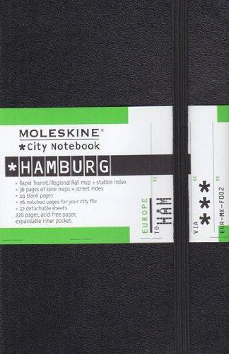 City-Notebook HAMBURG, 9x14 cm