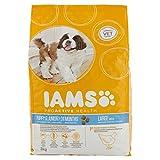 Iams Alimento Completo per Cani Cuccioli di Taglia Grande al Pollo - Pacco da 3 pezzi x 3 kg (Totale 9 kg)