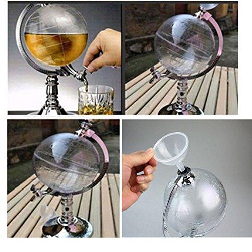 Globus befüllbare Flasche mit Dispenser - 3