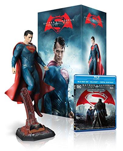 Batman V Superman: Dawn of Justice - Statua Superman (Blu-Ray) In Esclusiva Amazon