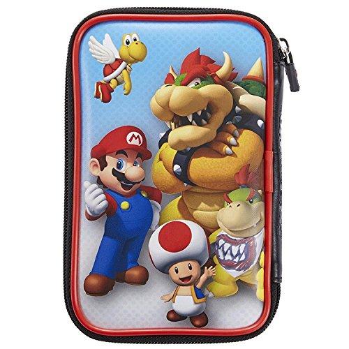 Offizielle Nintendo New 3DS XL / 3DS XL – Tasche / Hülle | 4 Motive zur Auswahl | Schützt den Nintendo 3DS ; Motiv: Mario und Browser