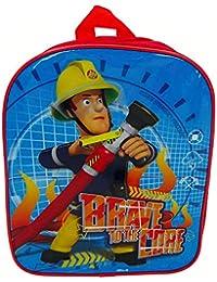 Sam Le Pompier - Fireman Sam - Enfants Sac à dos - Brave 30x24x8cm