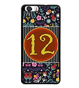 PrintVisa Metal Printed Numeric Designer Back Case Cover for Huawei Honor 6-D4761
