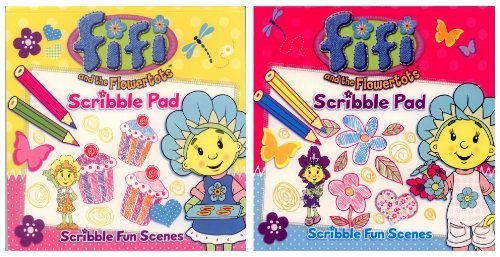 Fifi and the Flowertots: 2 For 1 - Scribble Pad