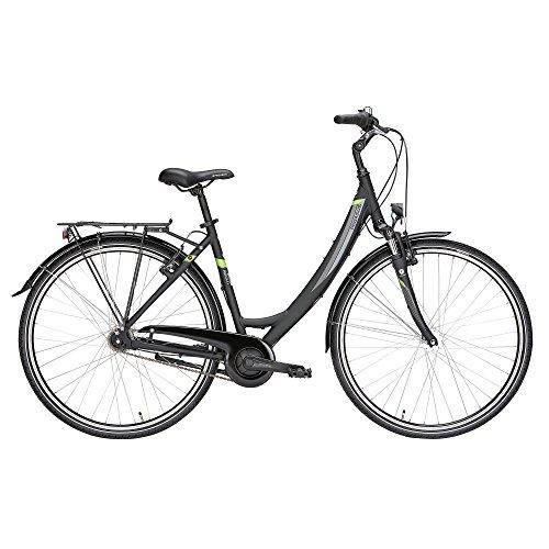 Pegasus Avanti 28' Damenfahrrad 7 Gang Shimano Citybike 28 Zoll Trekkingrad, Farbe:schwarz, Rahmenhöhe:55 cm