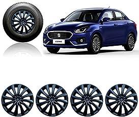 Autorepute 14Inwc_Dziret-3Black_Dzire2017 14-Inch Wheel Cover Cap For Maruti Suzuki Swift Dzire (Set Of 4)