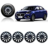 #6: Autorepute 14Inwc_Dziret-3Black_Dzire2017 14-Inch Wheel Cover Cap For Maruti Suzuki Swift Dzire (Set Of 4)