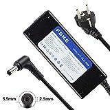 FSKE® Netzteil AC Adapter Ladegerät 24V 4A (kompatibel mit 24V 3A) Verbinder:5.5 * 2.5mm