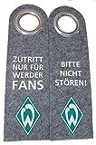 SV Werder Bremen Türanhänger aus Filz