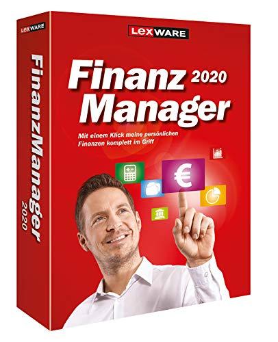 Lexware FinanzManager 2020|Box|Einfache Buchhaltungs-Software für private Finanzen und Wertpapier-Handel|Kompatibel mit Windows 7 oder aktueller