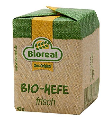 Bioreal - Bio-Hefe frisch Hefewürfel - 12x42g