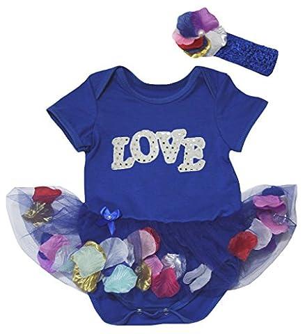 Petitebelle - Body - Bébé (fille) 0 à 24 mois bleu bleu - bleu - XL