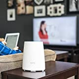 Netgear Orbi RBK40 AC2200 Tri-Band Home Wi-Fi System with Router and Satellite Extender (White)