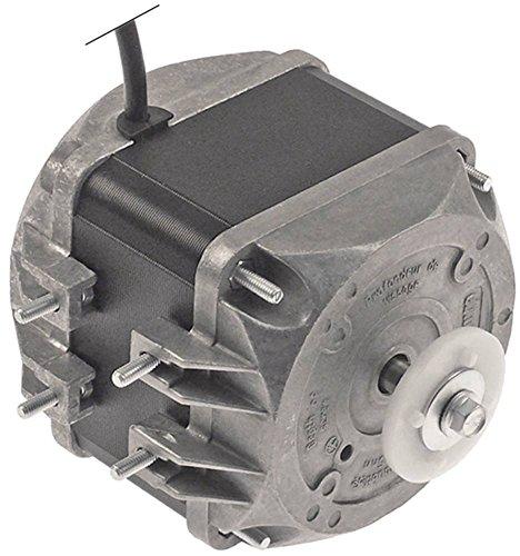 ebm-papst Lüftermotor Kabel 450mm 25W 50/60Hz 1300/1550U/min 230V 5 Befestigungsoptionen