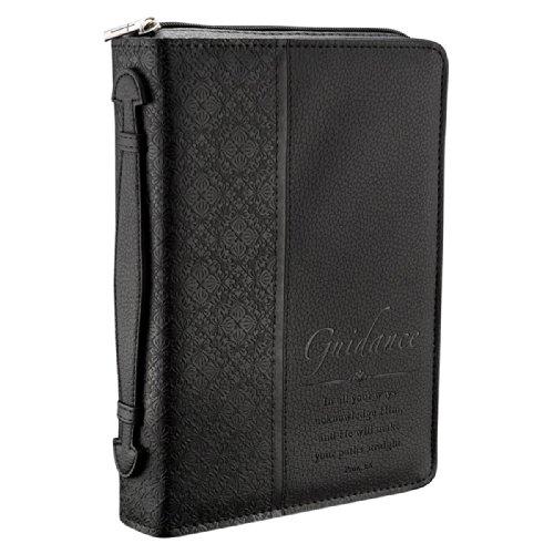 GUIDANCE BLACK CLASSIC LARGE BIBLE CASE