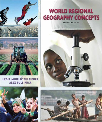 World Regional Geography Concepts (High School) by Lydia Mihelic Pulsipher (2012-01-15) par Lydia Mihelic Pulsipher;Alex Pulsipher