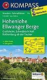 Hohenlohe - Ellwanger Berge: Wanderkarte mit Aktiv Guide und Radwegen. GPS-genau.1:50000 (KOMPASS-Wanderkarten, Band 774)