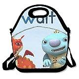 wallykazam. Travel Tote bolsa para el almuerzo