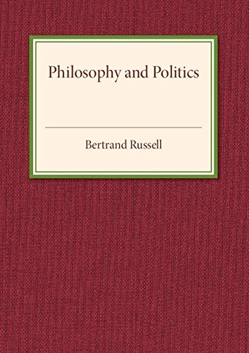 Philosophy and Politics