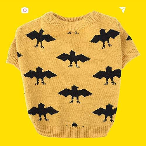 NiQiShangMao Mode Hund Kleidung warme Haustiere Kleidung für mittelgroße Hunde Kostüm Halloween Bulldog Pet Sweater Mops