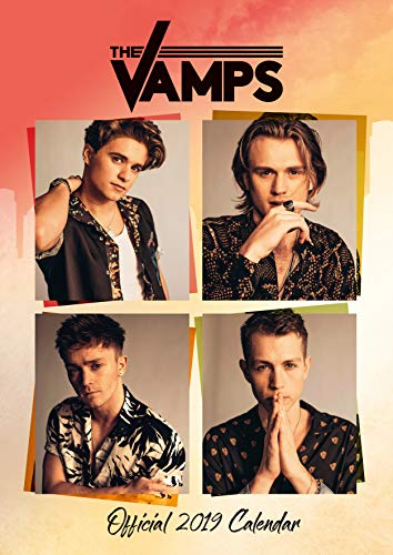 The Vamps Official 2019 Calendar - A3 Wall Calendar Format par The Vamps