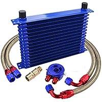 Kit Radiador de Aceite Oil cooler 15 Filas Universal
