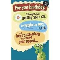 Cosas viejas sonido y movimiento Tarjeta de cumpleaños