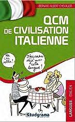QCM de civilisation italienne
