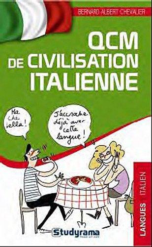 QCM de civilisation italienne par Bernard-Albert Chevalier