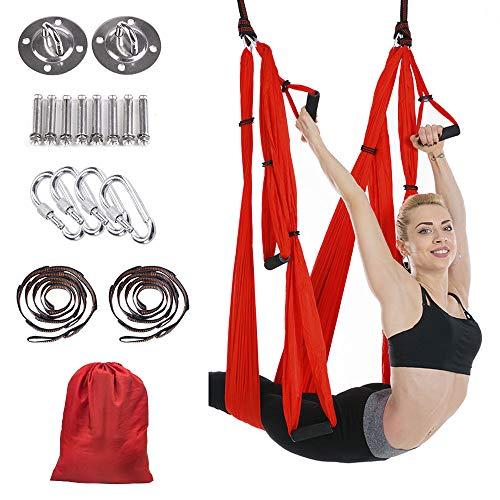 MelkTemn Columpio de Yoga Aéreo/Hamaca de Yoga/Yoga Aéreo/Yoga Trape