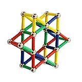 Tensoger Regalos del personal Juguete educativo de la inteligencia de los niños Juguetes magnéticos del regalo del palillo para los niños de 5+ años (84pcs)