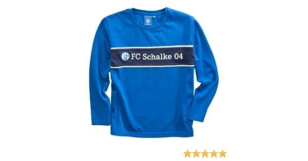 Fc schalke 04 Schlafanzug  Shirt Hose Gr 128 Fußball-Artikel Fußball-Trikots
