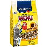 Vitakraft Premium Menu pappagalli 3kg - Alimenti Uccelli