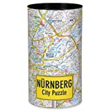 Extragifts City Puzzle - Nürnberg