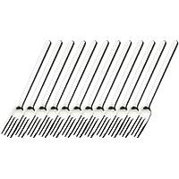 Esmeyer 250-091 12er Pack Menügabeln BETTINA aus Edelstahl 18/10, poliert. Materialstärke 2.5mm